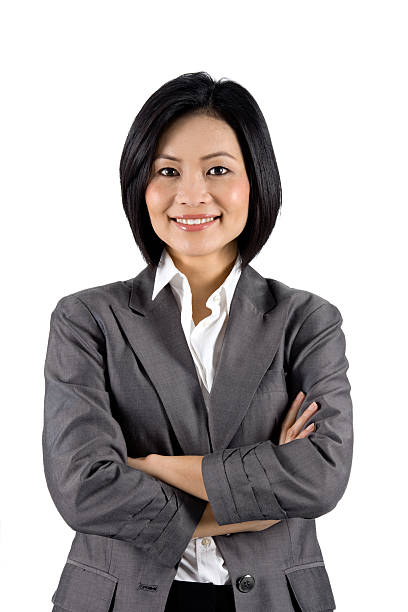 Modern Businessperson With Her Arms Folded.